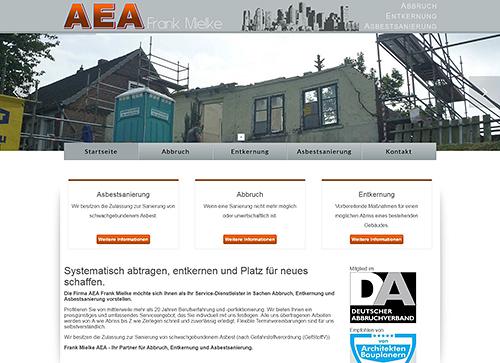 Frank Mielke AEA - Abbruch, Entkernung, Asbestsanierung
