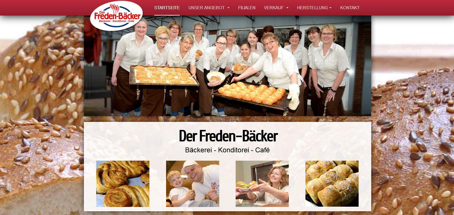 Der Freden-Bäcker - Bäckerei, Konditorei und Café in Fredenbeck.