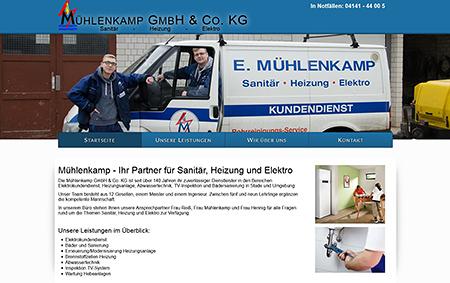 Mühlenkamp - Ihr Partner für Sanitär, Heizung, Elektro